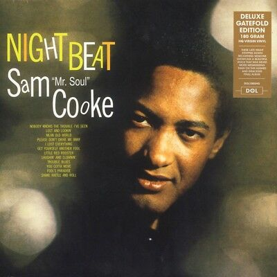 Sam Cooke NIGHT BEAT Deluxe Edition 180g GATEFOLD New Sealed Vinyl Record LP