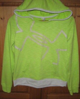 Under Armour Girls Hoodie Pullover Jacket Neon green size X Large