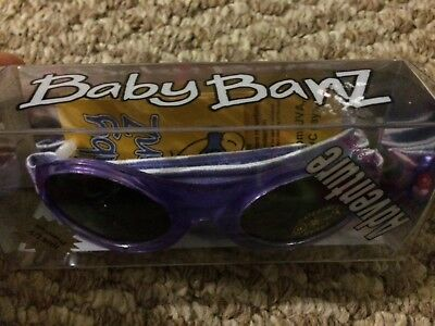 Baby BANZ Sunglasses Infant Sun Protection purple 100% uv protection