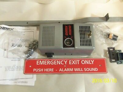 Detex Ecl-600 Fire Rated Panic Exit Device