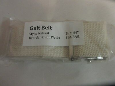 Gait Belt Style Natural 54""