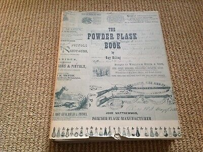 The Powder Flask Book Ray Riling Bonanza Books antique reference