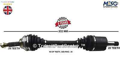 Drive Shaft Axle Toyota Avensis T22 T25 1.6 1.8 2.0 Petrol 2000-2008 Left Hand