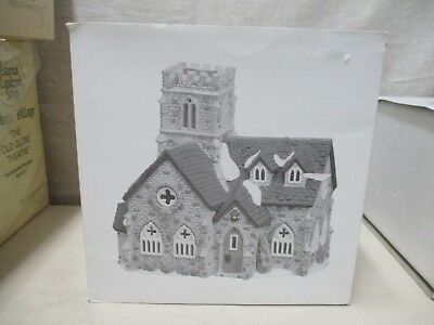 Dickens Village Dept 56 Christmas Knottinghill Church 5582-4 In Original Box
