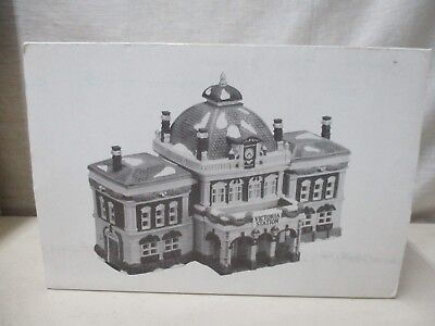 Dickens Village Dept 56 Christmas Victoria Station 5574-3 In Original Box