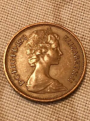 1979 Two Pence Coin Error