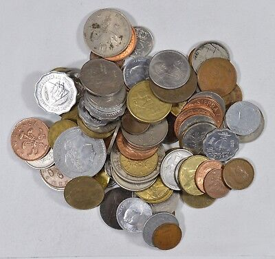 Roughly a POUND of Mixed World Coins - Great Mix *171