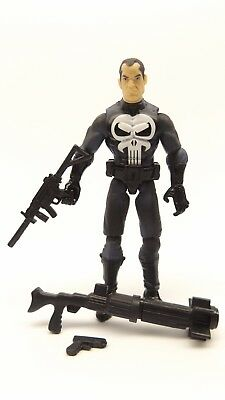 "Marvel Universe Series 1 020 The Punisher 3 3/4"" Loose Complete"