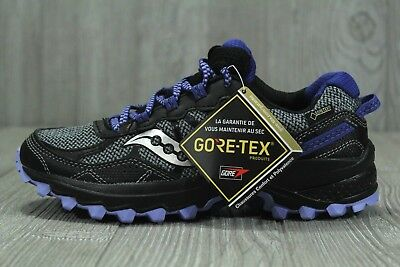 low priced 267e1 9b349 35 SAUCONY EXCURSION TR11 GTX Trail Running Shoes Purple Womens Sz 5.5