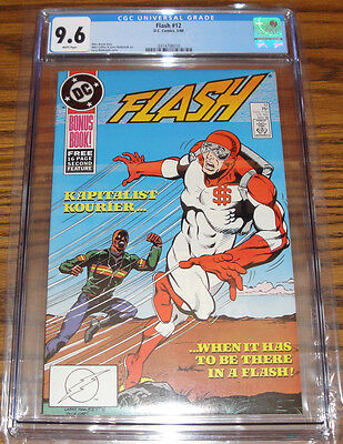 DC Comics The FLASH #12 CGC 9.6 - JLA