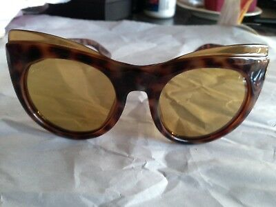 804c2a5621d GUCCI GG3781 S 55 22 Sunglasses Cat Eye Butterfly Tortoise Excellent  Condition -  84.00