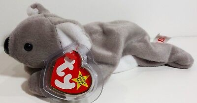 """TY Beanie Babies """"MEL"""" the KOALA BEAR - MWMTs! RETIRED! GREAT GIFT! A MUST HAVE!"""