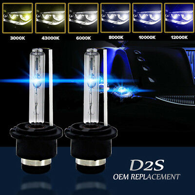 2pcs D2S D2C 35W Xenon HID Headlight Replacement Factory Bulbs For Osram Philips