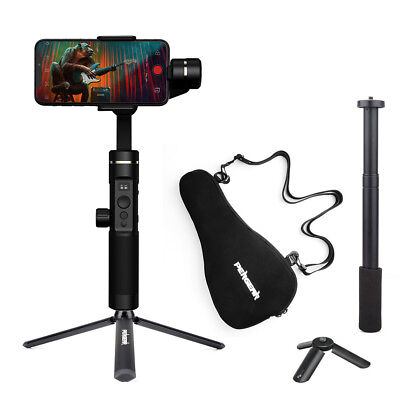 Feiyu SPG2 3-Axis Smartphone Stabilizer Handheld Gimbal +Extension Stick+Tripod