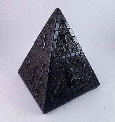 RARE ANCIENT EGYPTIAN ANTIQUE HEALING BLACK PYRAMID Statue Stone 1478 BC