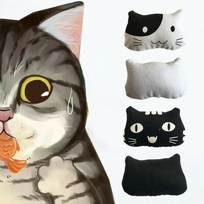 Small Cat Toy Catnip Pillow For Cats Catnip Bolster Teeth Grinding Toys