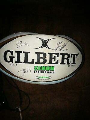 Harlequins Rugby Team Signed Rugby Ball