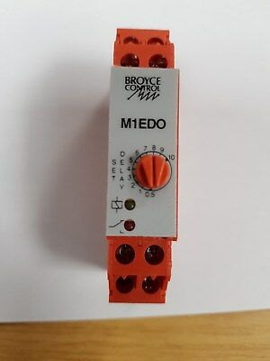 Broyce Control ON Time Delay Relay M1EDO 24VAC/DC/230VAC .5-10M( RS 300-5840)