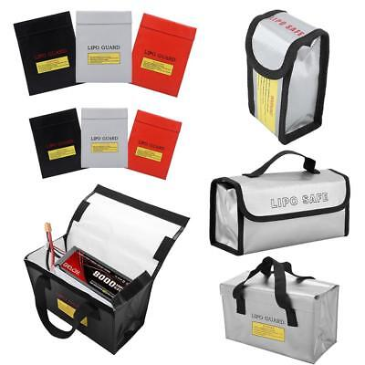 RC LiPo Battery Fireproof Explosionproof Storage Bag Safety Guard Charging Sack
