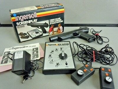 Vintage Ingersoll Screenplay XK600B Retro Video Game Console and Box Collectable