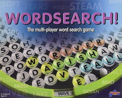Wordsearch Fun Word Board Game Multiplayer Search Puzzle Double Sided Disc New