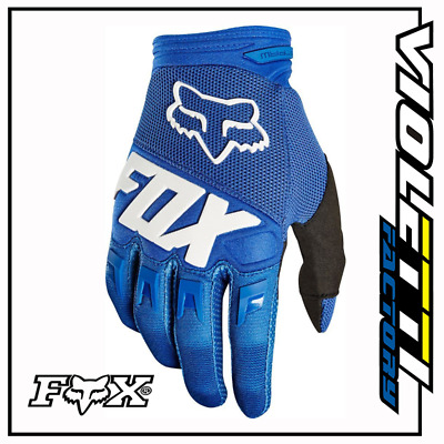 YOUTH BIMBO DIRTPAW GLOVE BLUE 22753-002 guanti BLU BAMBINO FOX ENDURO CROSS