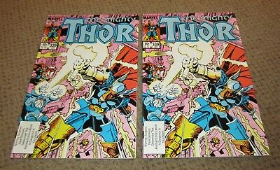 Marvel Comics: The Mighty THOR #339, Mint, January 1984, 2 Copies, 1st Edition