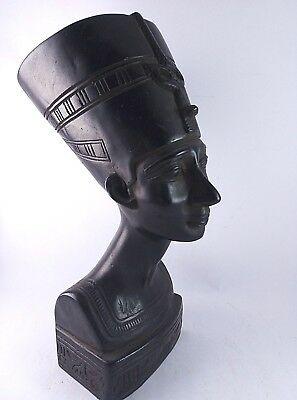 RARE ANCIENT EGYPTIAN ANTIQUE Nefertiti HEAD of Nefertiti Stone 1370-1330 BC