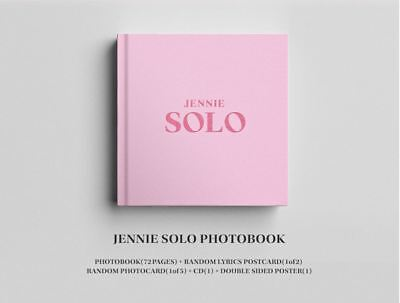 [Blackpink] - Jennie [Solo] Photobook Official Yg Goods