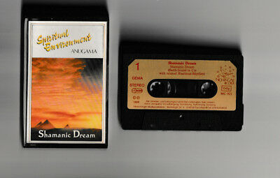 Mc Anugama  ★ Shamanic Dream ★ Nightingale 1989 ★ Tape  Kassette Top Rar !