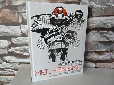 new/sealed JUDGE DREDD THE MEGA COLLECTION Vol 24 Issue 2 MECHANISMO BOOK