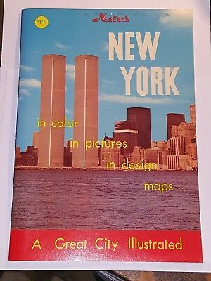 Vintage NESTERS NEW YORK 1974 Illustrated Booklet