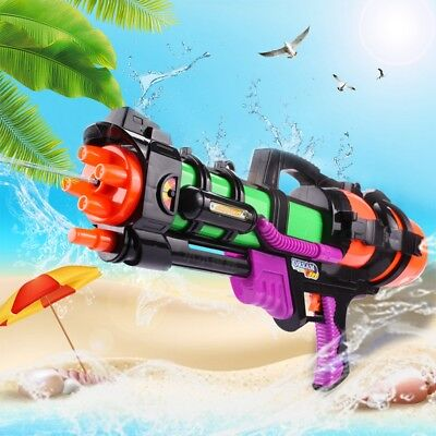 1-10X 23in Large Water Guns Pistols Squirt Guns Kids Plastic Xmas Toy OUT/INDOOR