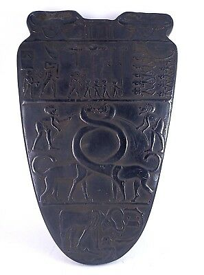 RARE ANCIENT EGYPTIAN ANTIQUE NARMER King Mina Stela 1950 BC