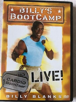 Billy's  Bootcamp DVD S Fitness Training Plan