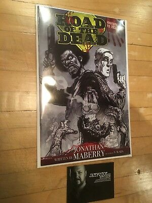 Road of the Dead Highway to Hell #1 *SIGNED* rare variant RI cover