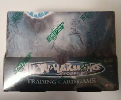 Yu Yu Hakusho Ghost Files Trading Card Game Brand New Sealed Box