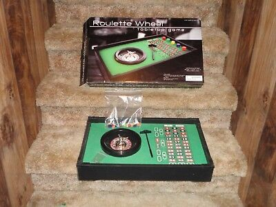 New... Roulette Wheel - Tabletop Game In Original Box