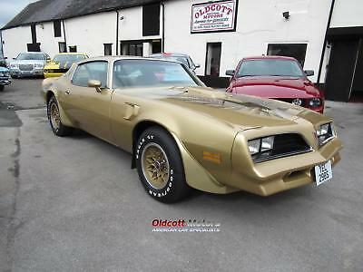 1978 Pontiac Trans Am 6.6 Litre 4 Speed Manual 12,865 Miles, Two Owners From New