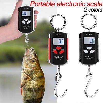 200KG High Precision Electronic Crane Scale Hanging Hook Portable Digital Scale