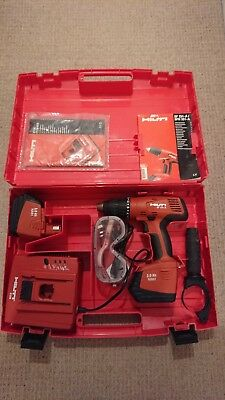 HILTI SF 151 A Cordless drill, including 2 X batteries, charger and case