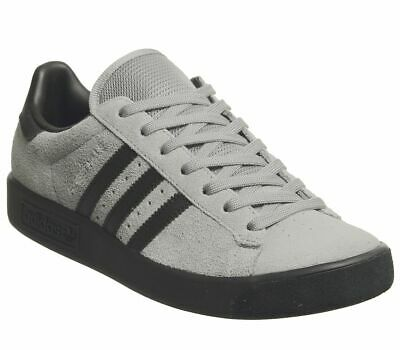 Mens Adidas Forest Hills Trainers Grey Three Core Black Exclusive Trainers Shoes