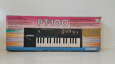 Excellent 1980's Collectible Vintage Electronic Keyboard Synthesizer Casio PT-10