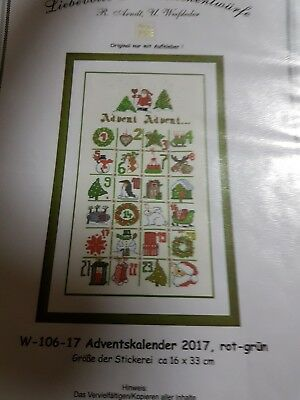 Lke stickvorlage Advent Advent