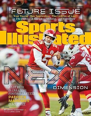 Patrick Mahomes Kansas City Chiefs Sports Illustrated cover photo - select size