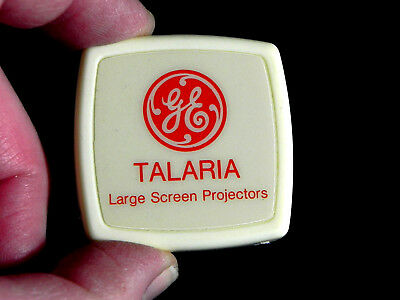 vintage 1980s GE TALARIA Projectors GENERAL ELECTRIC advertising TAPE MEASURE