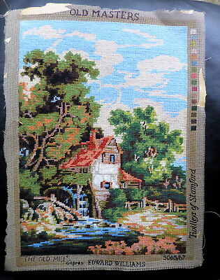 complete wool tapestry picture / canvas