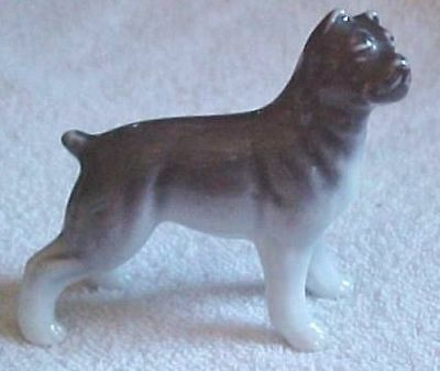 bull dog/Boxer Dog figurine Made In Occupied Japan