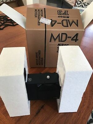 Nikon MD 4 power winder in good working condition! in box!