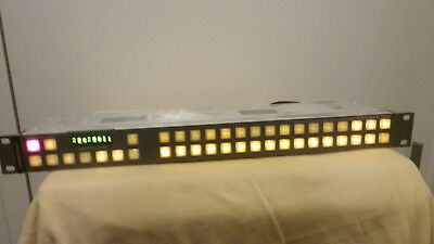 Grass Valley ENCORE BPS THOMSON BROADCAST PN: 610090100 ENC-BPS Control Panel